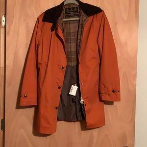 BARBOUR NEWMARKET waterproof coat